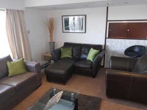 Flat to rent in Bedford MK420AU lounge area
